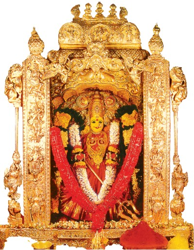 Hindu Goddess kanaka durga photos