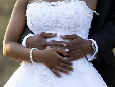 wedding service anglican priest bride aborted