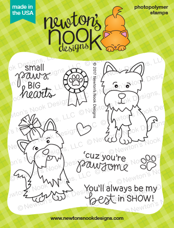 Newton's Nook Designs Terrific Terriers Stamp Set