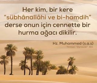 Hz. Muhammed (s.a.v) Resimli Sözleri