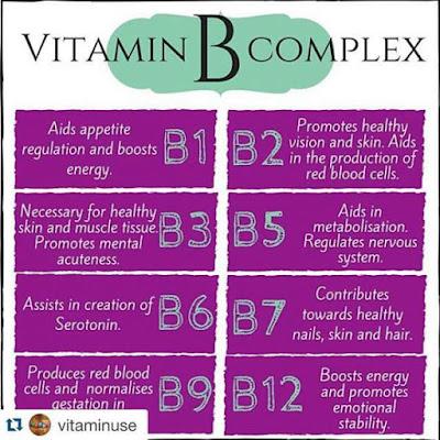 Perbedaan vitamin B kompleks dan B12