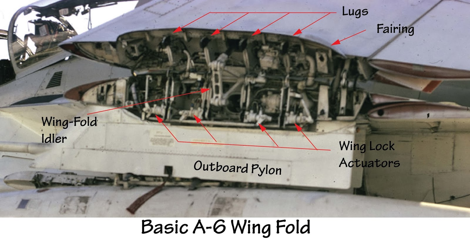 Tailhook Topics Grumman A 6 Wing Fold Differences