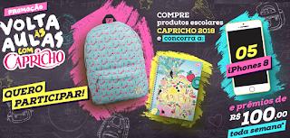 """Promoção: """"Volta às aulas com Capricho"""" blog topdapromocao.com.br topdapromocao.blogspot.com.br"""
