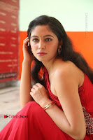 Actress Zahida Sam Latest Stills in Red Long Dress at Badragiri Movie Opening .COM 0131.JPG