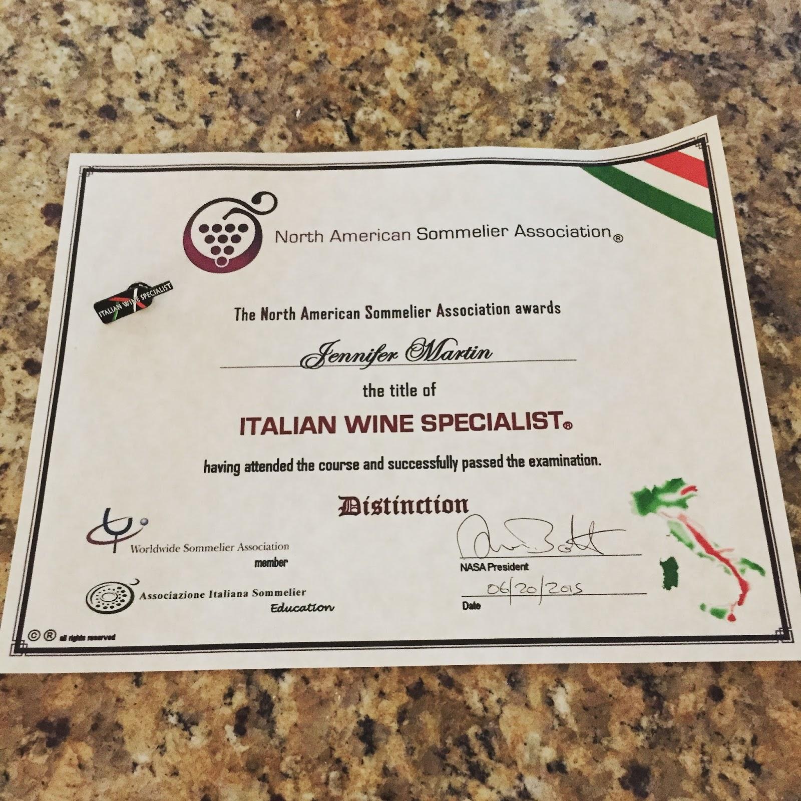An Italian Wine Blog: My Italian Wine
