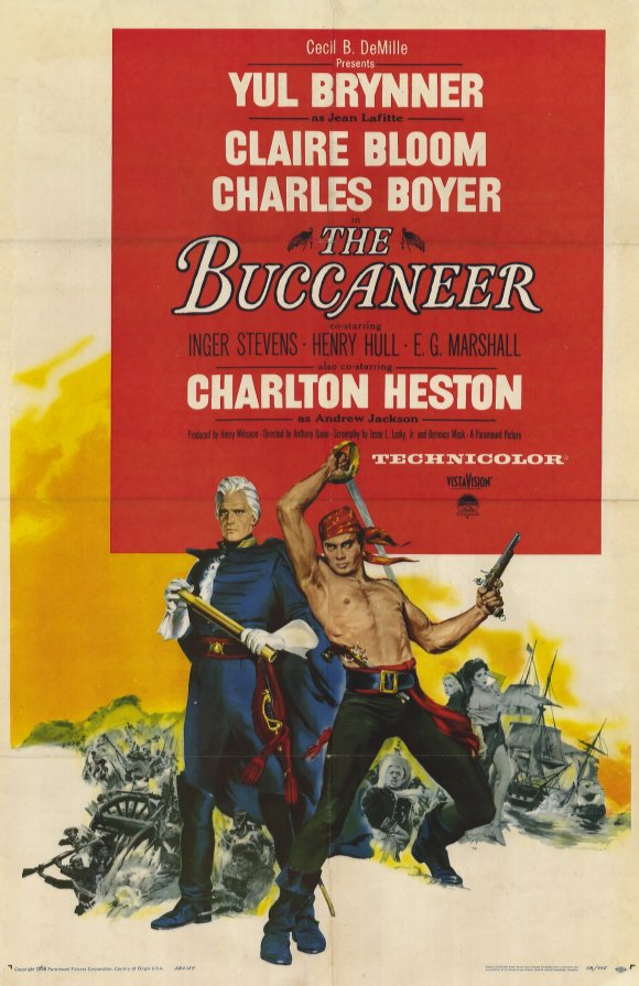 CommentaramaFilms  Guest Review  The Buccaneer (1958) 70a15d19f