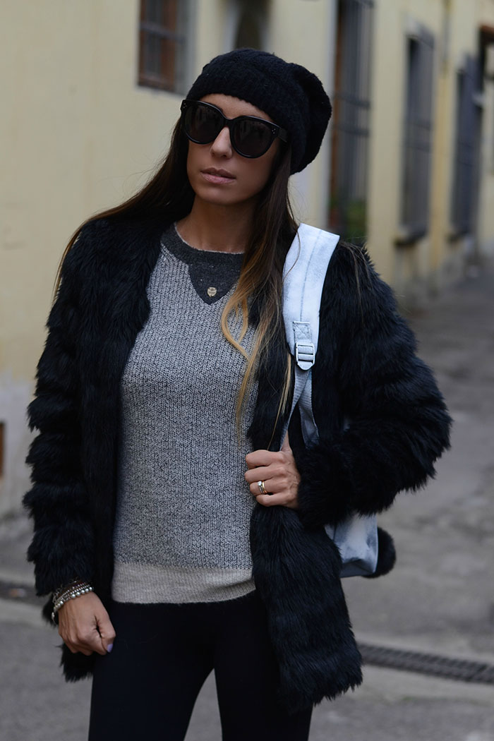 maglione grigio cachemire