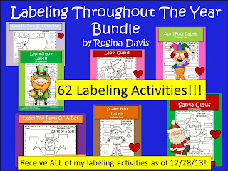 http://www.teacherspayteachers.com/Product/A-Labeling-Throughout-The-Year-Compilation-Packet-625999