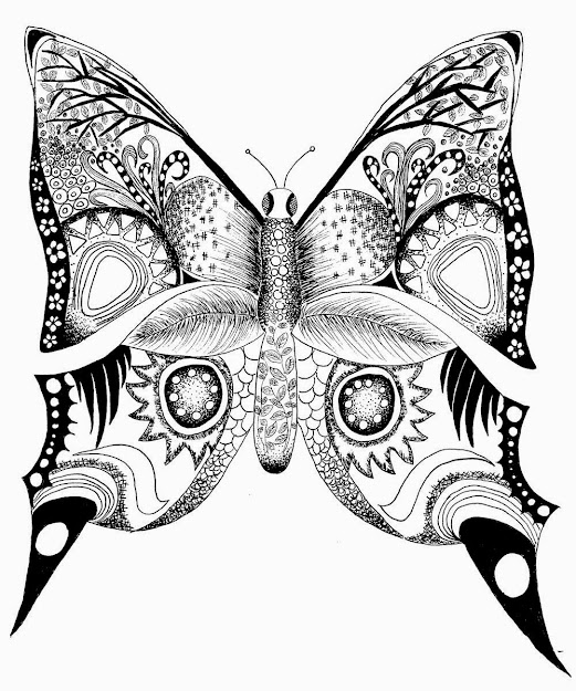 Difficult Adult Coloring Pages Auromas