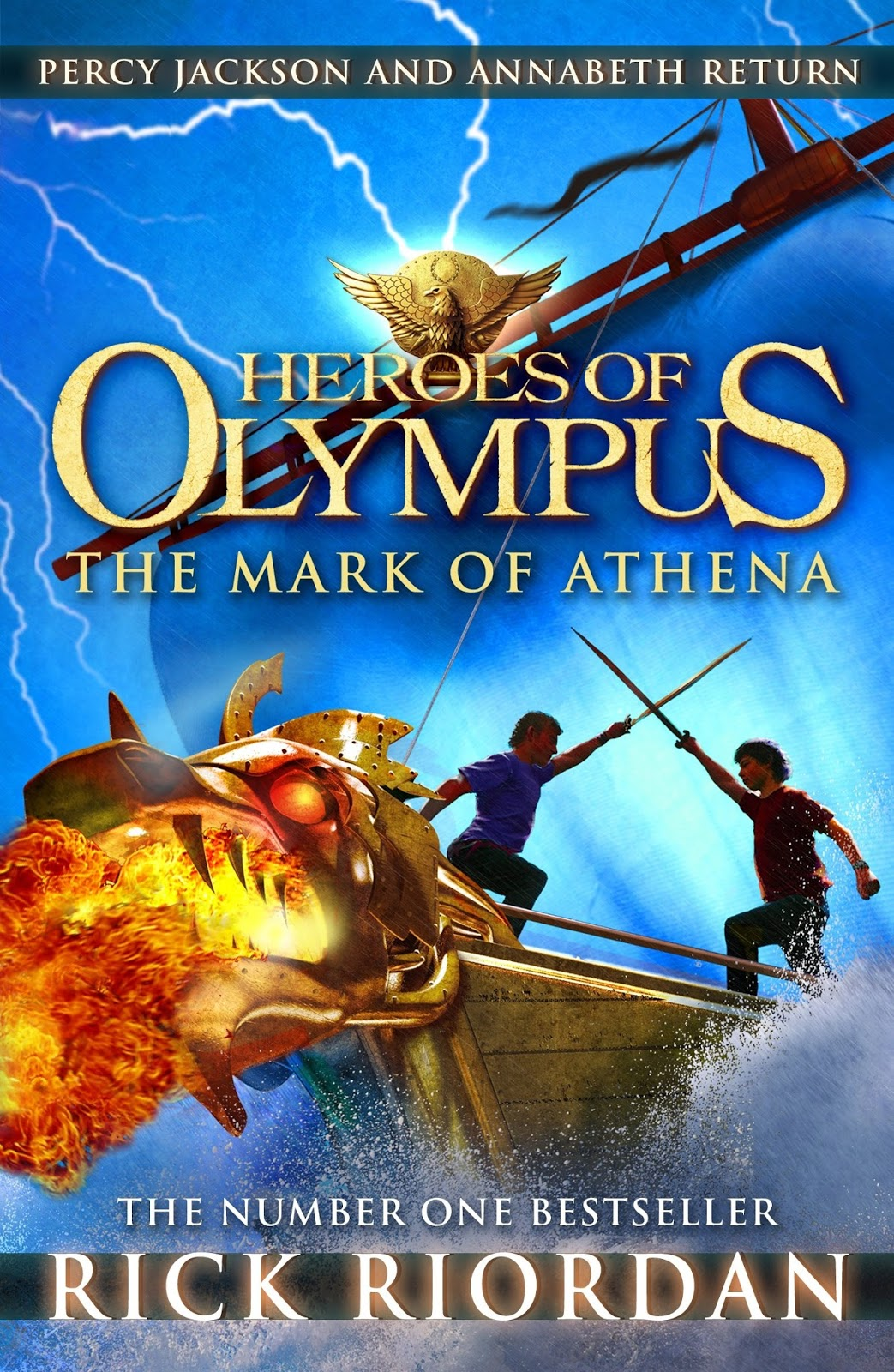Rick Riordan -The Heroes of Olympus 3 - The Mark of Athena