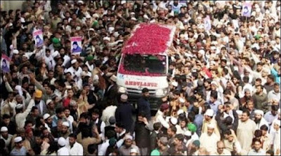 Amjad Sabri Funeral Offered