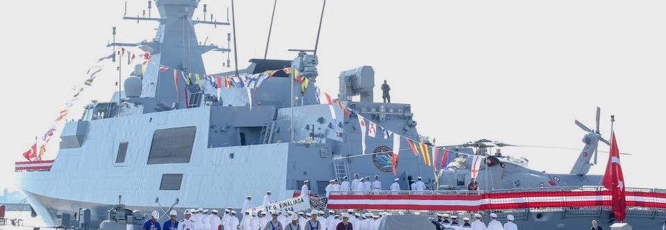 ВМС Туреччини поповнив четвертий корвет MILGEM