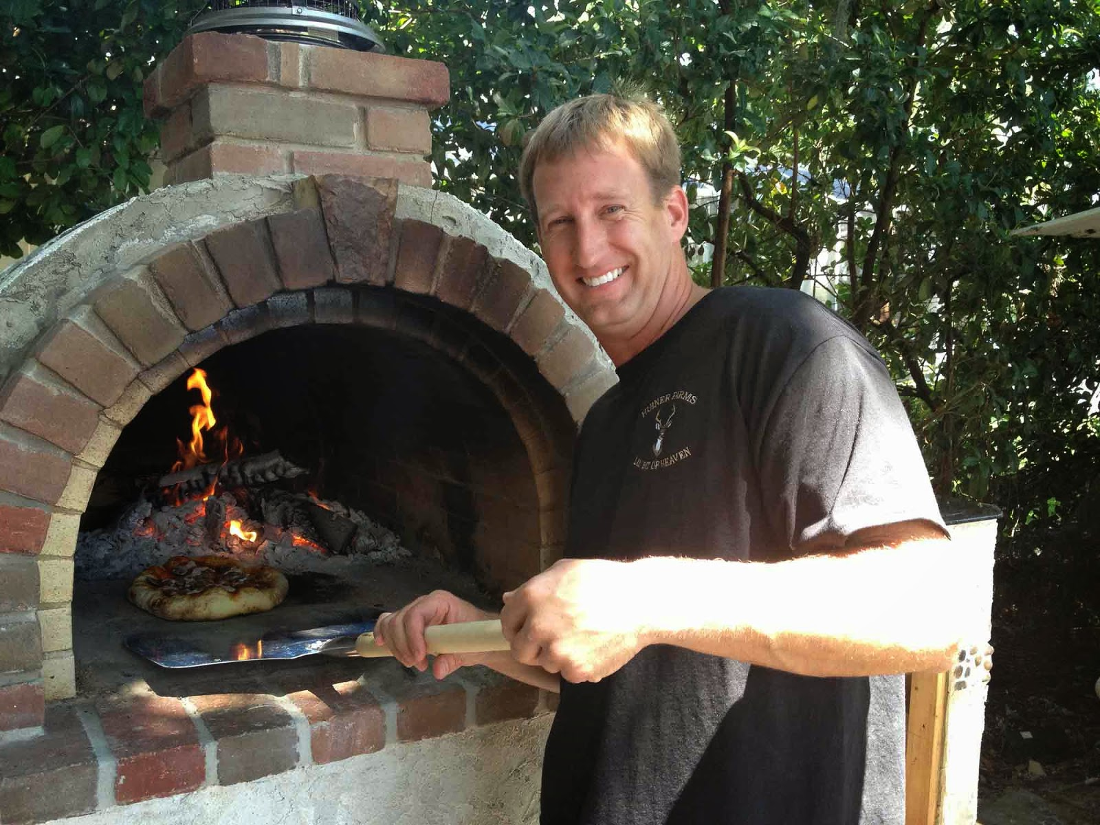 The Peterson Family Wood Fired Brick Pizza Oven In Florida The