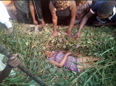 Teenage Girl Gruesomely Murdered By Suspected Ritualists In Delta State... And this happened (Graphic Photo)