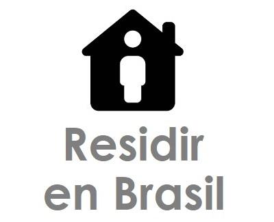Residencia en Brasil