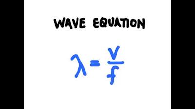 معادلة الموجة