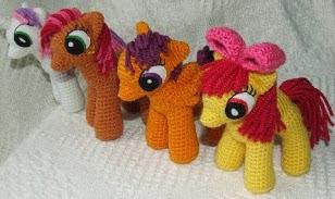 Pequeno Pony Amigurumi Patron : MI PEQUEnO PONY PATRONES AMIGURUMI