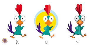Rooster Character color options created by Imagine That! Design for Rooster Race by Roosterfin Games