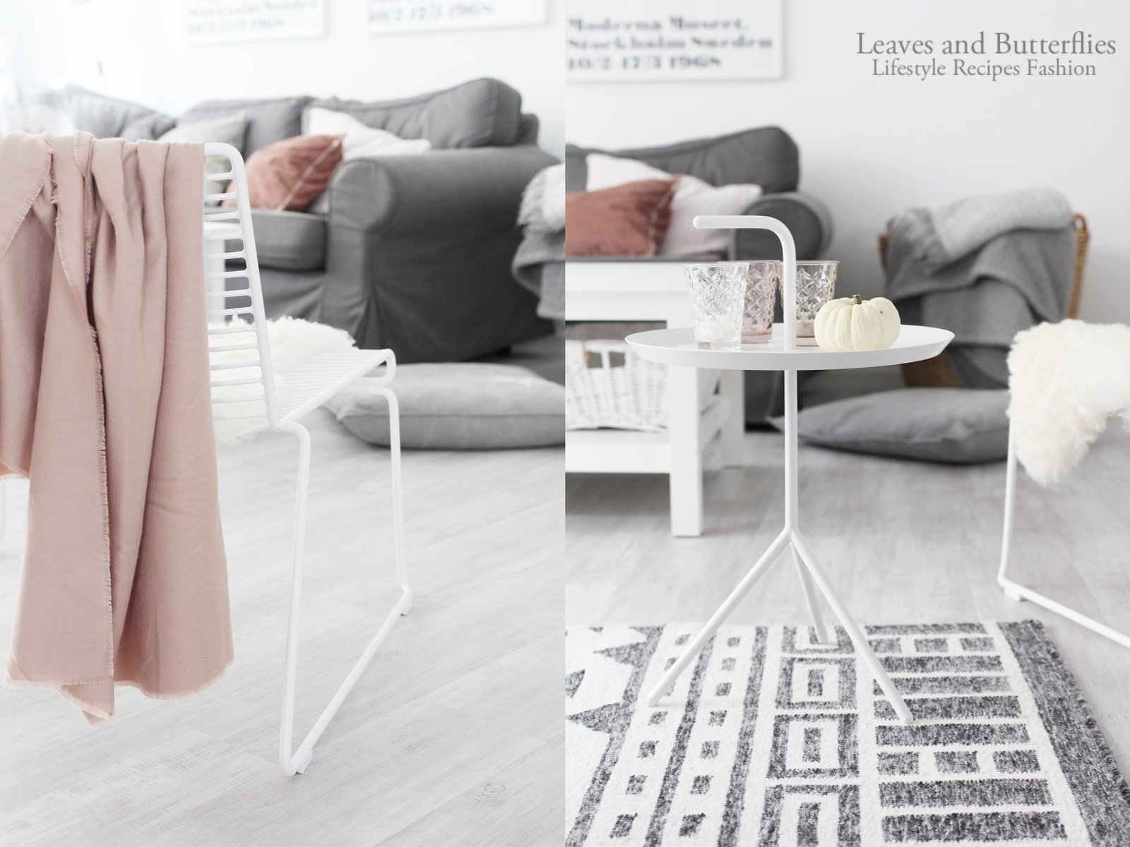 Ein neuer Begleiter im Wohnzimmer und herbstliche Farben