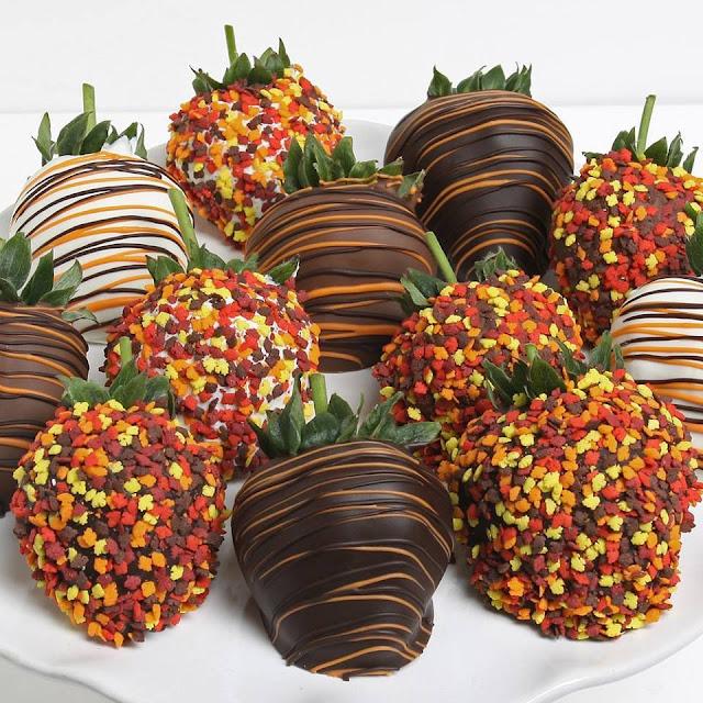 Chocolate covered strawberries #1