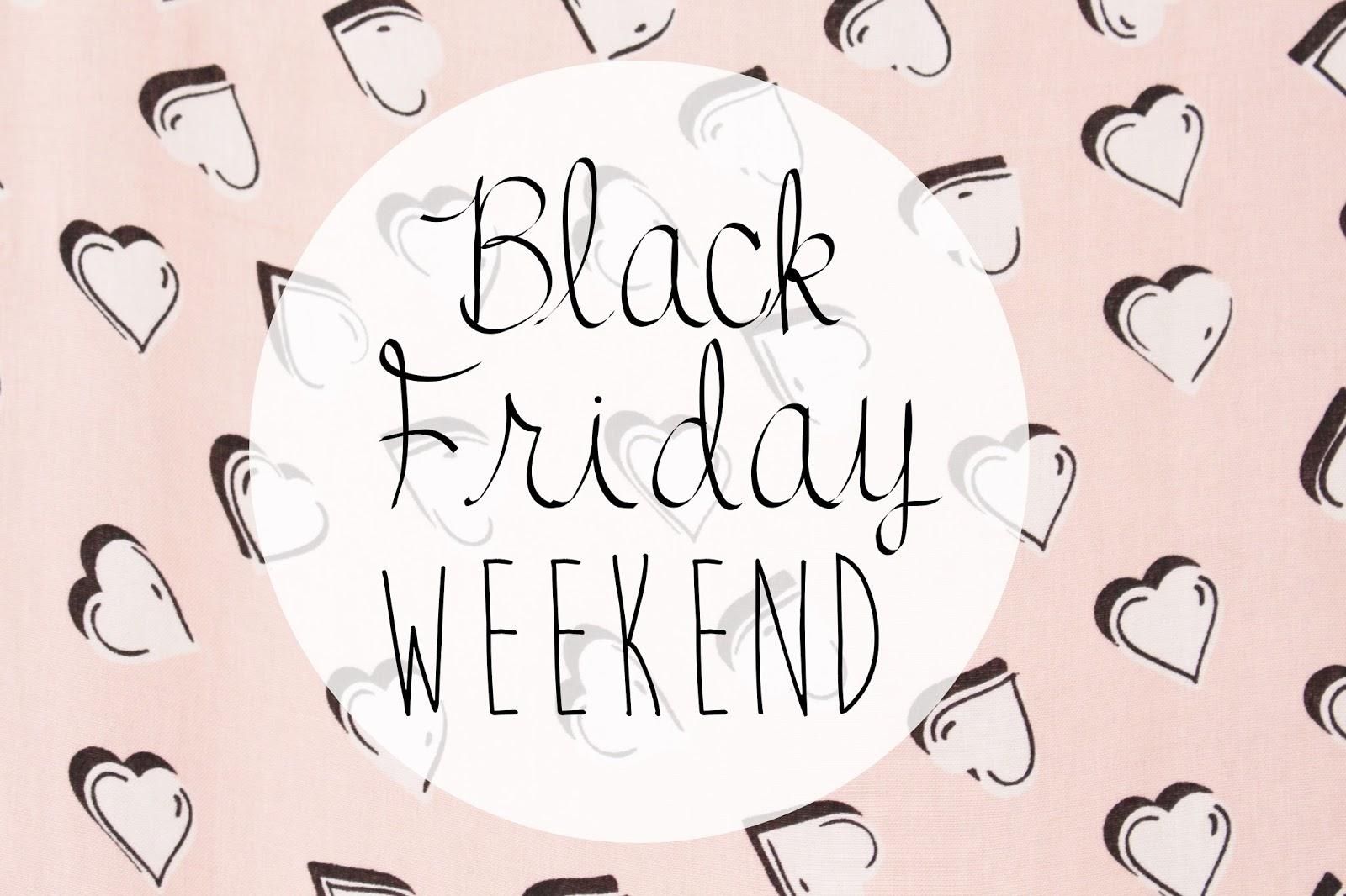 Black Friday Weekend Beauty Deals UK 2014
