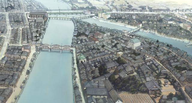 """Reconstitution d'Hiroshima en 1933, """"Dans un recoin de ce monde"""""""