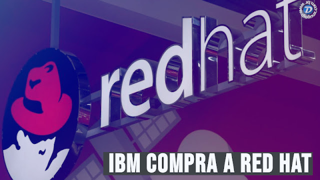 IBM compra Red Hat por US$34 BI, maior aquisição da historia do software