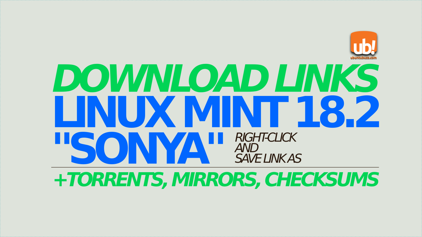 Ubuntu Buzz !: Download Links for Linux Mint 18 2