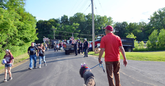 Burnt Hills Flag Day Parade