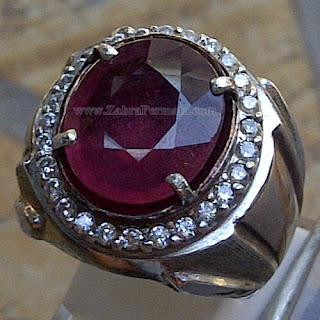 Cincin Batu Permata Ruby - 1029