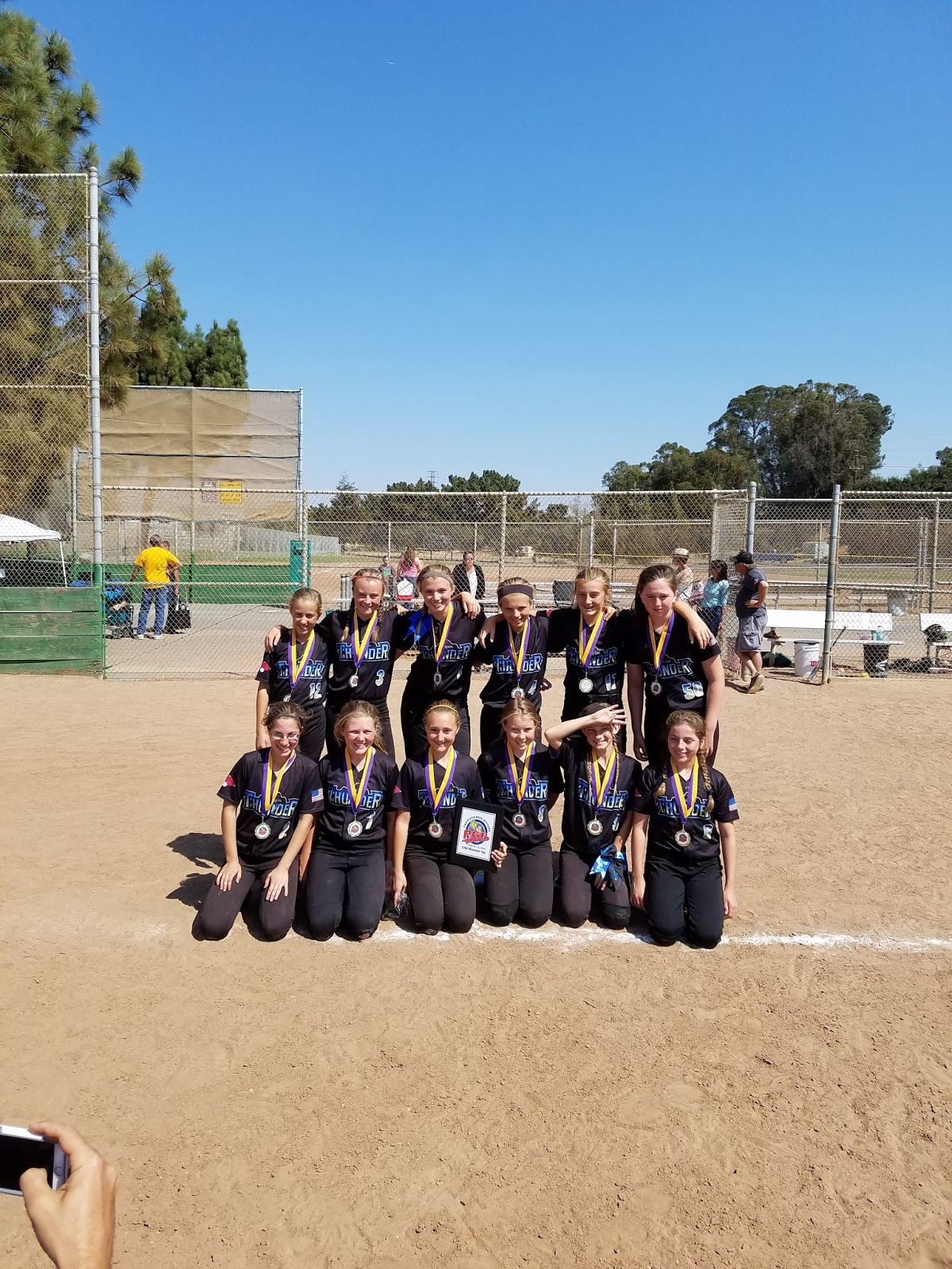 NorCal Thunder Fastpitch Softball: Second Place PGF