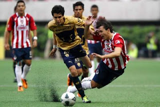 Chivas de Giadalajara vs Pumas UNAM