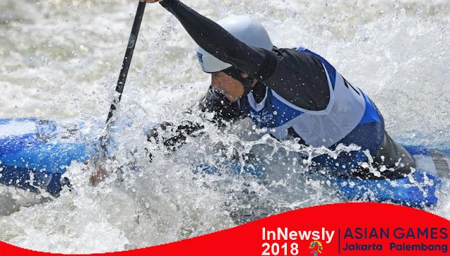 Atlet Kayak Indonesia Melenggang ke Semifinal Asian Games