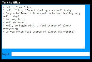 Conversación con Eliza