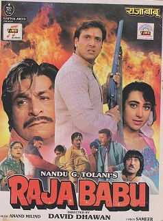 Raja Babu 1994 Hindi 720p WEB HDRip 1GB ESubworld4ufree.ws Bollywood movie hindi movie Raja Babu 1994 movie 720p dvd rip web rip hdrip 720p free download or watch online at world4ufree.ws