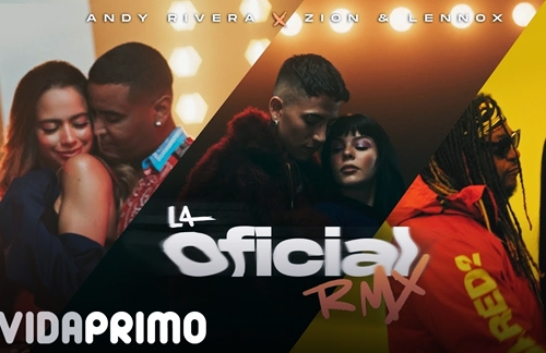 La Oficial (Remix) | Andy Rivera & Zion & Lennox Lyrics
