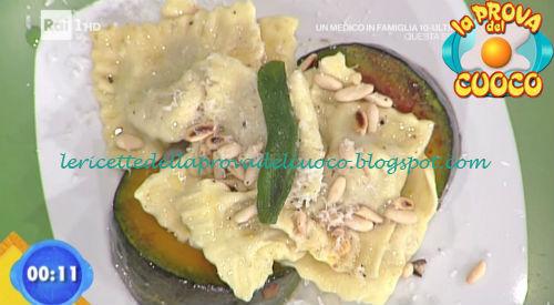 Tortelli di zucca con burro allo zenzero ricetta Marsetti da Prova del Cuoco