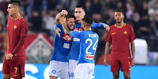 Napoli vs  AS Roma Live Streaming online Today 03.03.2018 Italy Serie A
