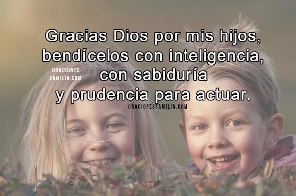 Oración corta por los hijos,  Bendiciones para hija o hijo, oraciones cortas por mi familia por Mery Bracho con imágenes.