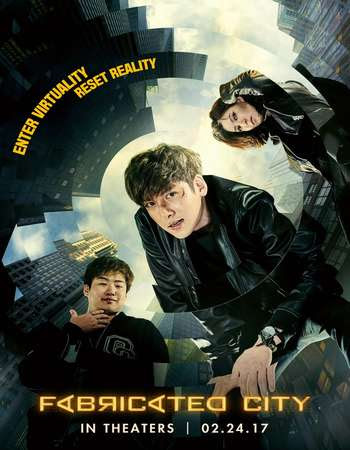 Poster Of Fabricated City In Dual Audio Hindi Korean 300MB Compressed Small Size Pc Movie Free Download Only At worldfree4u.com