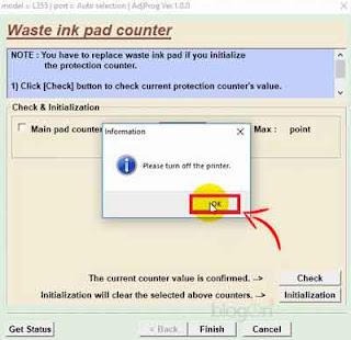 Mengatasi Error (Lampu Indikator Tinta dan Kertas Berkedip) pada Printer Epson L355