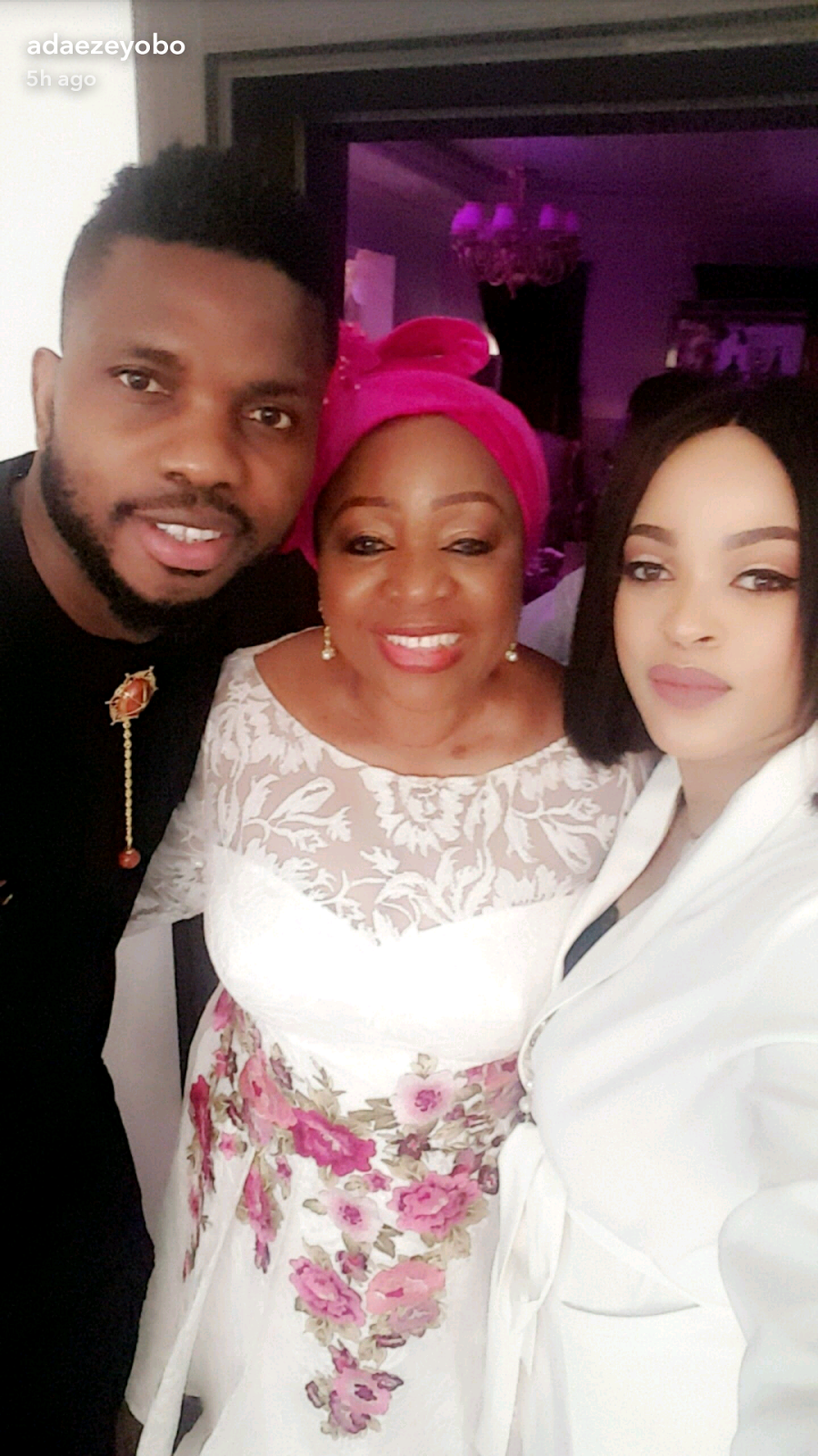 Photos From Joseph Yobo's Daughter Lexins, Dedication.