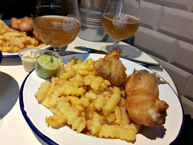Mersea restaurant paris 75009 bonne adresse fish and chips