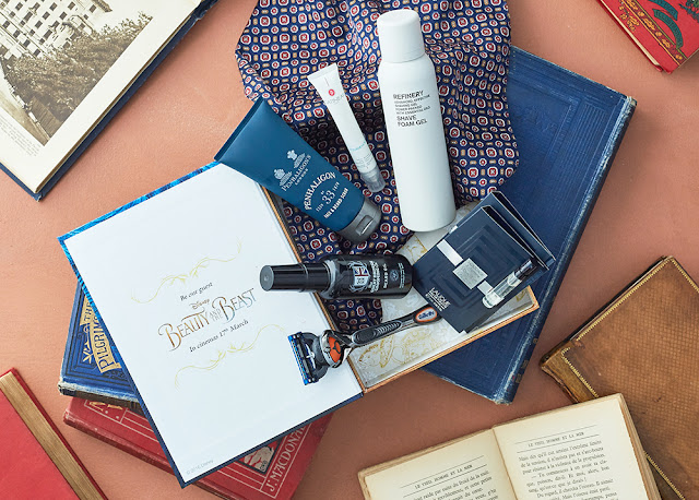 Latest in Beauty x Beauty and the Beast limited edition men's grooming beauty box