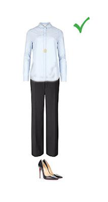Комплект с брюками для женщин с фигурой грушей