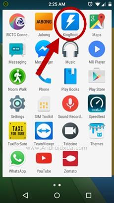 Ikon KingRoot Android