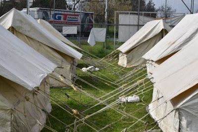 Εθελοντική Ομάδα Δράσης Ν. Πιερίας-Σήμερα φτάνουν 400 νέοι πρόσφυγες στην Χράνη
