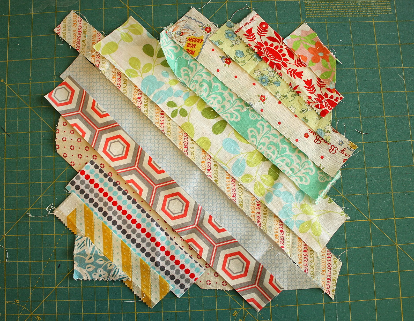 Easy Scrap Fabric Quilt Block Diary Of A Quilter A