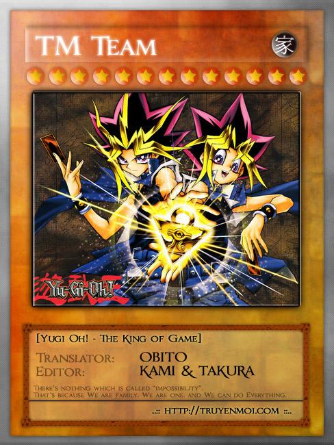 YUGI-OH! chap 57 - phần viii: quyết chiến trang 23