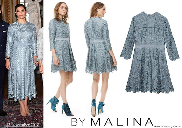 Crown Princess Victoria wore By Malina Ginger dress